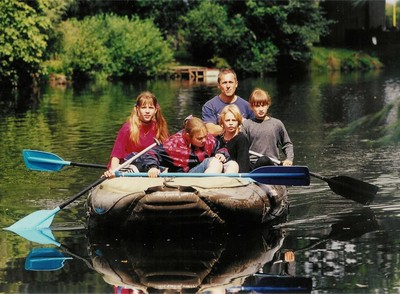 Family friendly river rafting