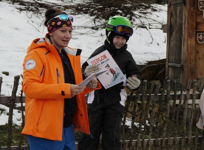 Weekly ski course for kindergarden
